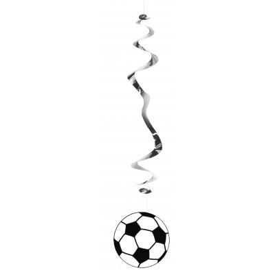 6 spirali da appendere calcio