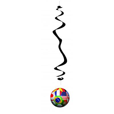 6 spirali da appendere Coppa del Mondo