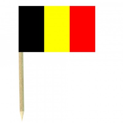 Stuzzicadenti bandierine Belgio