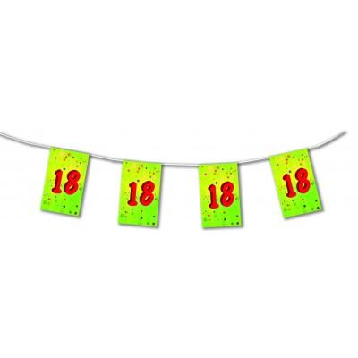 Bandierine compleanno 18 anni