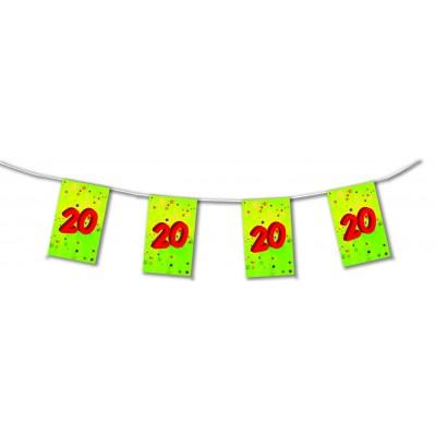 Bandierine compleanno 20 anni