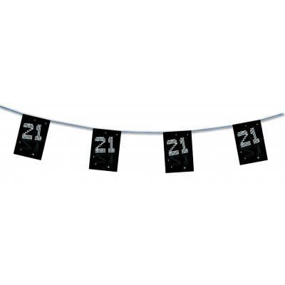 Bandierine compleanno 21 anni VIP