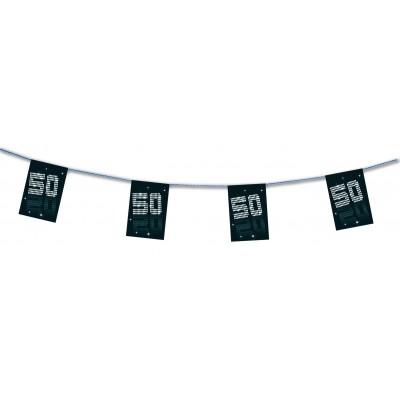 Bandierine compleanno 50 anni VIP