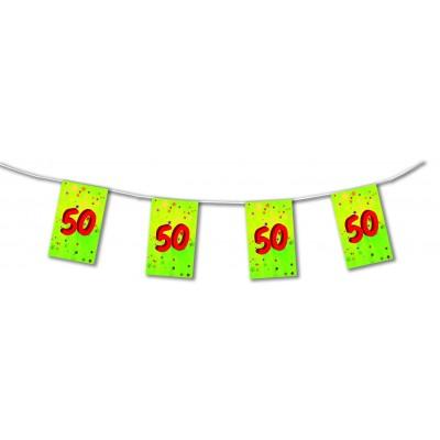 Bandierine compleanno 50 anni