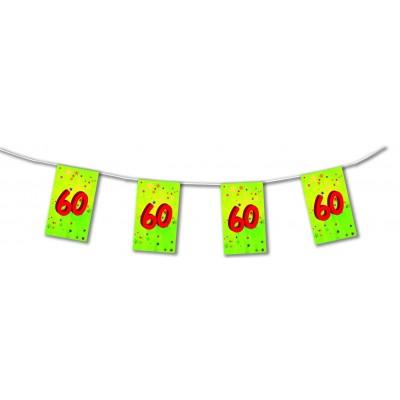 Bandierine compleanno 60 anni