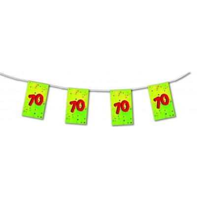 Bandierine compleanno 70 anni