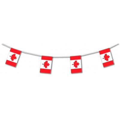 Bandierine in plastica Canada