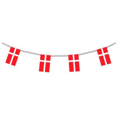 Bandierine in plastica Danimarca
