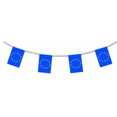 Bandierine in plastica Europa