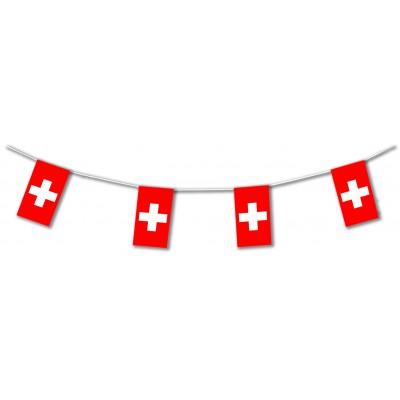 Bandierine in plastica Svizzera