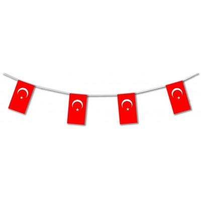Bandierine in plastica Turchia