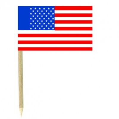 Stuzzicadenti bandierine USA