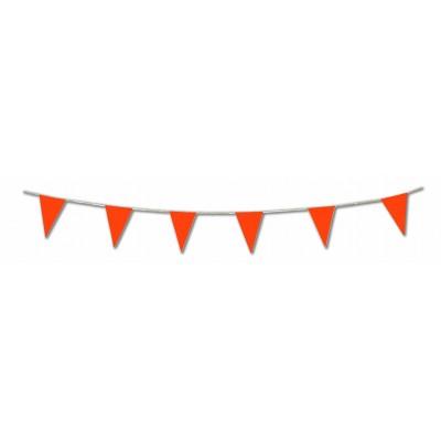 Bandierine triangolari arancioni