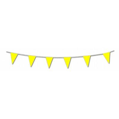 Bandierine triangolari gialle