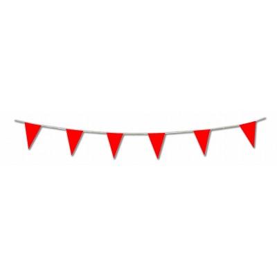 Bandierine triangolari rosse
