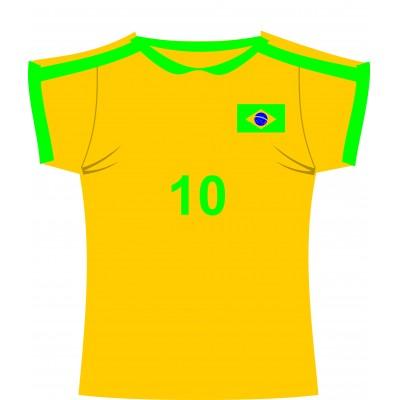 Cartonato maglia Brasile