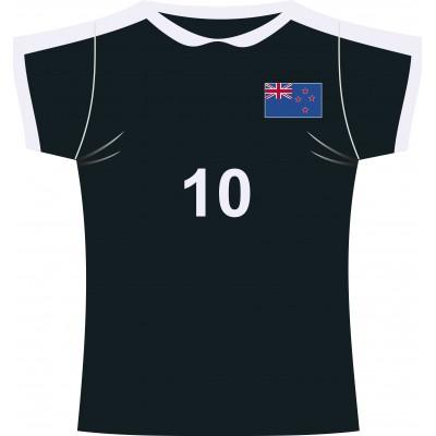 Cartonato maglia rugby All Blacks