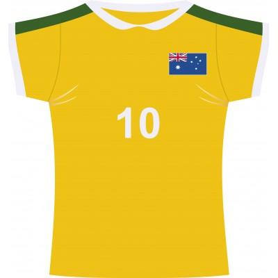 Cartonato maglia rugby Australia