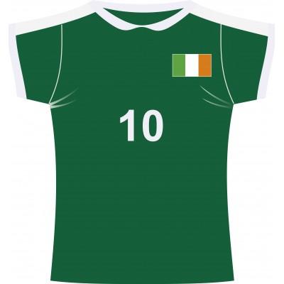 Cartonato maglia rugby Irlanda