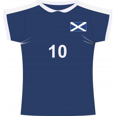Cartonato maglia rugby Scozia