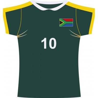 Cartonato maglia rugby Sud Africa