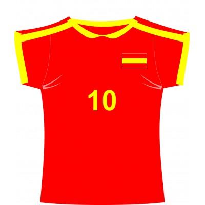 Cartonato maglia Spagna
