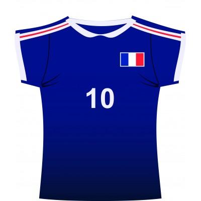 Cartonato maglietta Francia