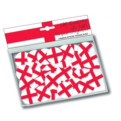 Coriandoli bandiera Inghilterra - 150 pz
