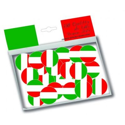Coriandoli bandiera Italia - 150 pz