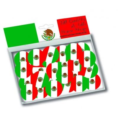 Coriandoli bandiera Messico