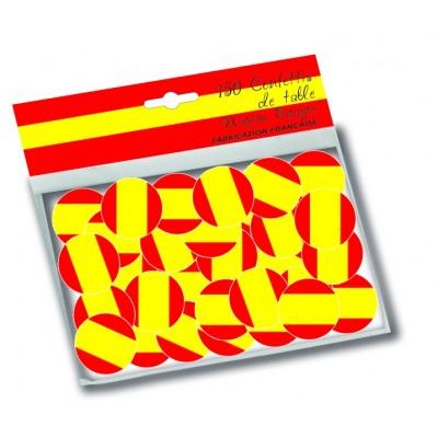 Coriandoli bandiera Spagna