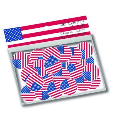Coriandoli bandiera USA