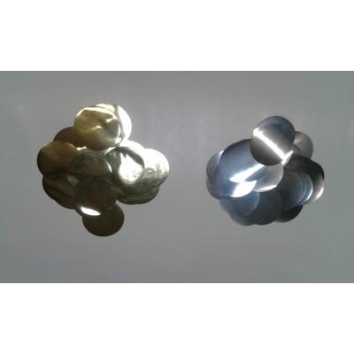 Coriandoli metallizzati tondi 55mm