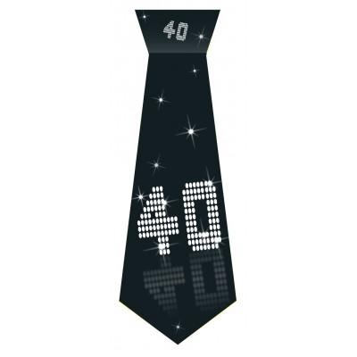 Cravatta compleanno 40 anni