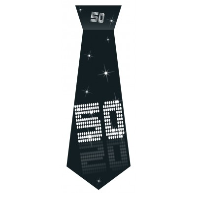 Cravatta compleanno 50 anni