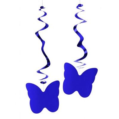 Farfalle viola confezione da 6