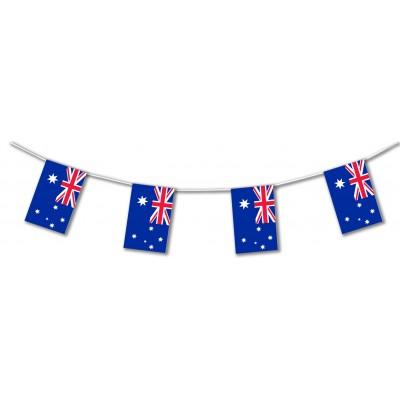 Bandierine in plastica Australia