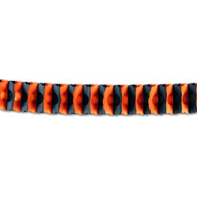 Festone arancione/nero  4,50 m