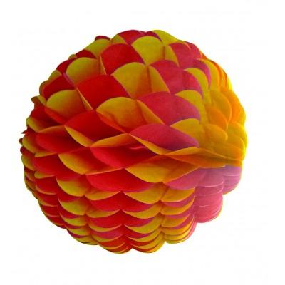 Palla a nido d ape rossa e gialla