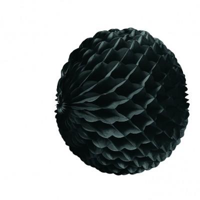 Pallina a nido di ape nera 25 cm
