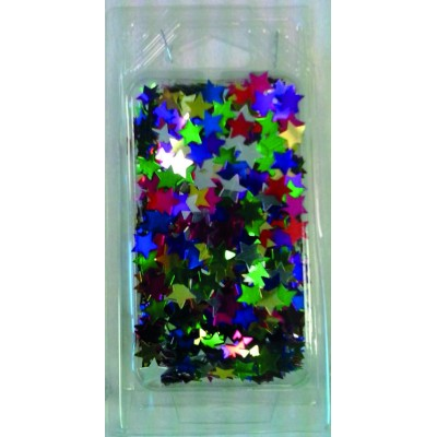 Stelle multicolor glitter