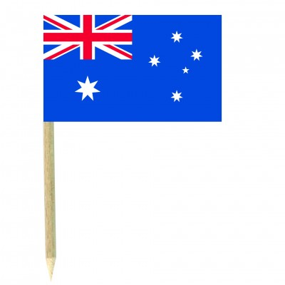 Stuzzicadenti bandierine Australia