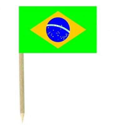 Stuzzicadenti bandierine Brasile