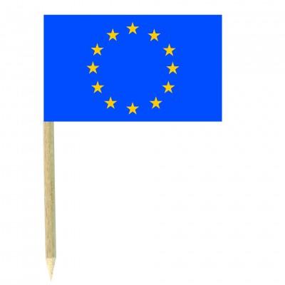Stuzzicadenti bandierine Europa