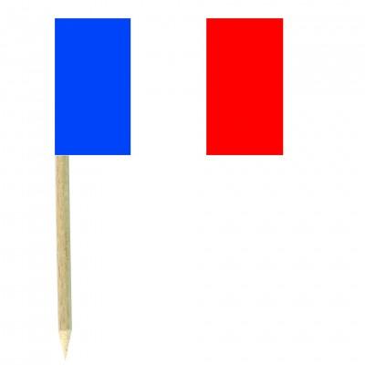 Stuzzicadenti bandierine Francia