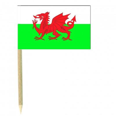 Stuzzicadenti bandierine Galles