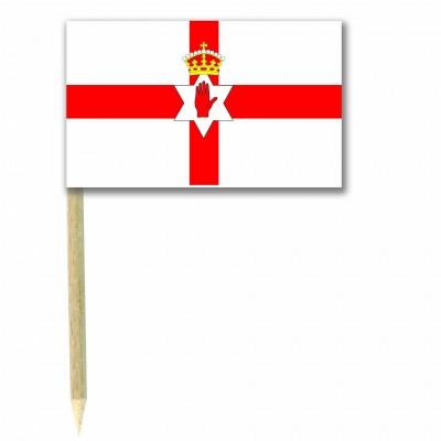 Stuzzicadenti bandierine Irlanda del Nord