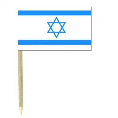 Stuzzicadenti bandierine Israele