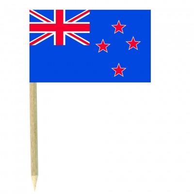 Stuzzicadenti bandierine Nuova Zelanda
