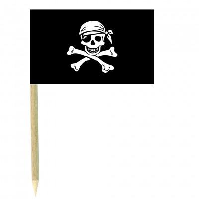Stuzzicadenti bandierine Pirati